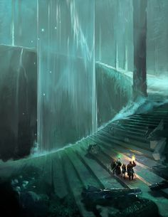 Great Stairway by sedone on DeviantArt