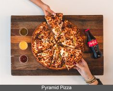 Head over to Pyramid Pizza, just a 10-minute walk from Bristow's Inn, and enjoy great deals on pizza and wings, every day of the week. Pizza Legal, Pizza Cool, Homemade Trail Mix, Eating Carrots, Pizza Special, Intuitive Eating, Food Photography Styling, Lean Protein, C'est Bon