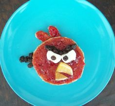 angry bird breakfast! I bet we could make this for following directions.- Re-pinned by @PediaStaff – Please Visit http://ht.ly/63sNt for all our pediatric therapy pins