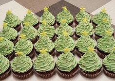 Könnyű krém muffinra 😋 Izu, Xmas, Christmas, Mini Cupcakes, Macarons, Food And Drink, Sweets, Cookies, Recipes
