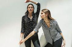 BLACK & WHITE для женщин в онлайн-магазине Stradivarius. Войдите прямо…
