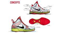 Portfolio Teaser (Nike Basketball) by Cheresse Thornhill at Coroflot.com