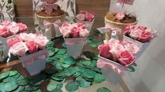Rózsaszín szívek I Kit   Rosamorena Virágos Arts   Elo7