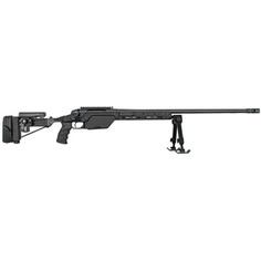 Steyr SSG-08 Bolt Action Rifle .338 Lapua 27.6 Heavy Barrel 10 Round Capacity Black Aluminum Adjustable Stock Black Mannox Finish
