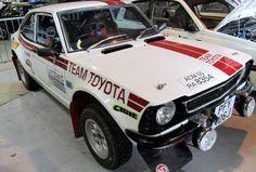 Classic Toyota rally car