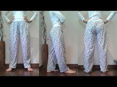 Harem Pants, Pajama Pants, Parachute Pants, Ideias Fashion, Sweatpants, Sewing, Jeans, Pattern, Blog
