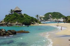 #Tayrona #Colombia Dream Vacation Spots, Dream Vacations, Places To Travel, Places To Go, Sierra, Wonders Of The World, South America, Bella, Beaches