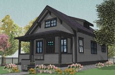 Free download. The Hestia is a 770 sq ft 1.5 storey bungalow with 2 bedrooms and an optional artist's loft or walk-in closet designed for a basement foundation.