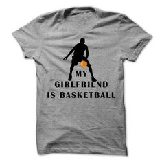 My girlfriend is basketball T Shirts, Hoodies, Sweatshirts. GET ONE ==> https://www.sunfrog.com/Sports/My-girlfriend-is-basketball.html?41382