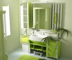 Tiny house bathroom - Looking for small bathroom ideas? Take a look at our pick of the best small bathroom design ideas to inspire you before you start redecorating. Green Interior Design, Bathroom Interior Design, Minimalist Home Interior, Minimalist Bathroom, Modern Minimalist, Simple Bathroom, Modern Bathroom, Green Bathrooms, Bathroom Ideas