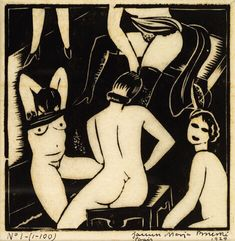 Janusz Maria Brzeski, La Baurdele 1929 on ArtStack #janusz-maria-brzeski #art