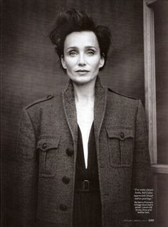 """The French do sexy in a different way from the English,""...""It's about subtlety: the not-too-short skirt or the not-too-revealing shirt. Everything is suggested rather than exposed. The discretion is exciting."" Kristin Scott Thomas. March 2012 InStyle magazine."