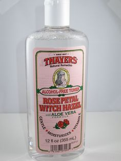 Thayers Rose Petal Witch Hazel Toner - get it from iherb.com. Use code CSQ006 for up to $10 off first order!  Cruelty Free Beauty <3