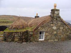 Gearannan Blackhouse Village - Isle of Lewis - Scotland