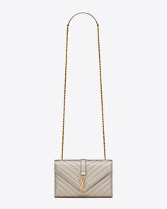 Saint Laurent Monogram Envelope Bag: discover the selection and shop online on YSL.com