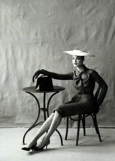 Natalia Vodianova in Christian Dior