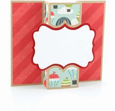 a2 pop out card: artisan