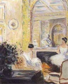 Jules-René Hervé - Ballerines dans le salon #3