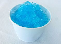 Frozen Homemade Snow Cone