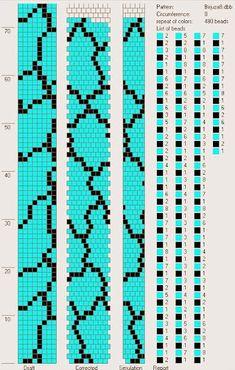 Şablonları DB-Bead proğramı sayesinde kendinizde kolayca oluşturabilirsiniz.