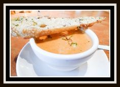 """Tommy Bahama's Crab Bisque is outrageously delicious! """"Bisque is a smooth textured, creamy and seasoned soup with French origins. This dish is made from lobster, crab, shrimp and crayfish. The broth is made by boiling the shells of the seafood that you will use in the finished dish, however, chicken stock is an alternative if you don't have time to make your own stock."""" Click image for recipe."""