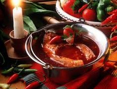 fish soup hungarian style