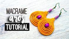 Aros gotas lineales fácil » ✨ tutorial | como hacer | diy ● Earrings #118