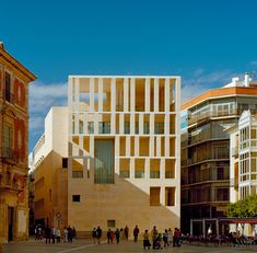 City Hall of Murcia, Plaza Cardenal Belluga, Murcia Spain | Rafael Moneo