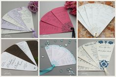 DIY Fan Program Kits from Cherish Paperie makes it so easy and affordable to create your own custom fan programs!