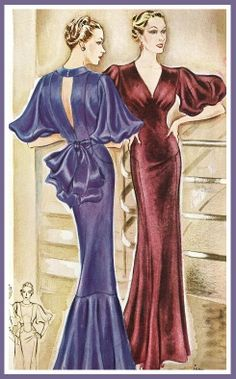 1930's McCall's Pattern Catalog Illustration