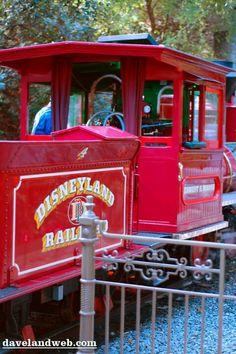 Disneyland Railroad Train 2
