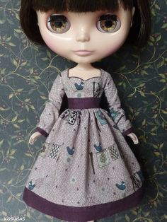 Dress for Blythe dolls. por Kosucas en Etsy