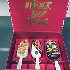 Thank you Magnum for the three exclusive and uniquely handcrafted Magnum Red Velvet creation. We love it. #neverstopplaying #MagnumXGrab Book via the special #GrabMagnum icon between 10am-5pm and with your card to #NeverStopPlaying and you'll get to enjoy these yummy ice creams.  via MARIE CLAIRE MALAYSIA MAGAZINE OFFICIAL INSTAGRAM - Celebrity  Fashion  Haute Couture  Advertising  Culture  Beauty  Editorial Photography  Magazine Covers  Supermodels  Runway Models