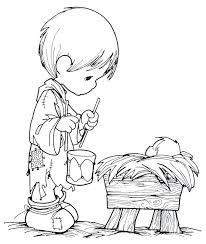 Image result for little drummer boy coloring pages