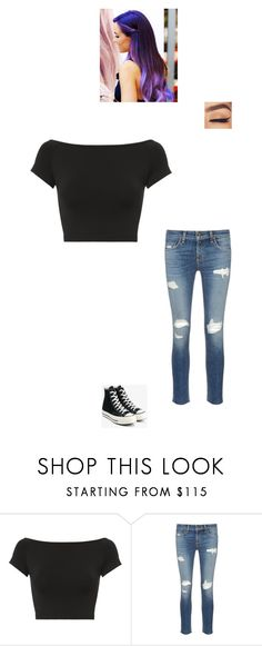 """Meeting Craig Again"" by maryvarleyrox on Polyvore featuring Helmut Lang, rag & bone/JEAN and Converse"