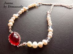 Pearl Necklace, Necklaces, Pearls, My Style, Wedding, Jewelry, Art, Fashion, String Of Pearls