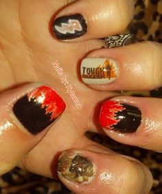 Tough Mudder Nails @Sarah Chintomby Robinson  this was made for you!