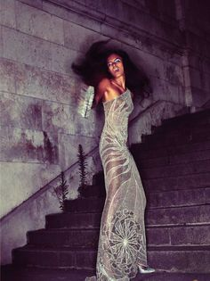 Lakshmi Menon in Couture After Dark by Cedric Buchet for V #56