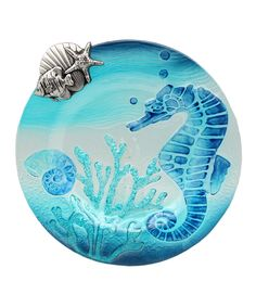 Another great find on #zulily! Sea Horse Serving Platter by Young's #zulilyfinds