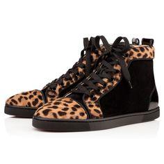 Chaussures femme - Bip Bip Woman Flat Pony Jaguar - Christian Louboutin
