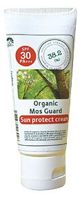 Organic Mos Guard Sun Protect cream SPF30 -made of Organics