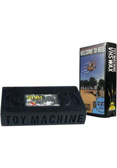 Toy-Machine Wax-V.H.S - titus-shop.com  #Skatewax #Skateboard #titus #titusskateshop
