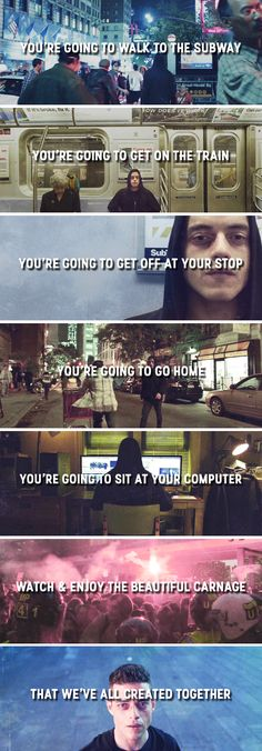 Mr. Robot: Now, here's what I need you to do now