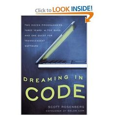 Their story takes us through a maze of dead ends and exhilarating breakthroughs as they and their colleagues wrestle not only with the abstraction of code but with the unpredictability of human behavior, especially their own Dream Code, Human Behavior, My Books, How To Find Out, Software, Novels, Engineering, Coding, Thoughts