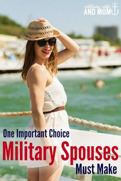 What choice do military spouses have in military life?