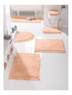 badmatten: Heerlijk zachte roze badmatten