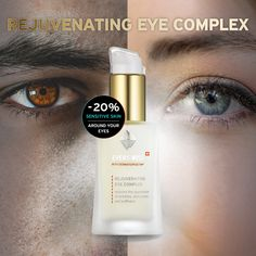 Reduces the appearance of wrinkles, dark circles and puffinessThis unique formula contains the triple concentration of the Dermatopoietin® Peptide Complex, PhytoCellTec™ Argan, valuable plant oils and antioxidant vitamins to boost skin regeneratio. Under Eye Bags, Normal Skin, Dark Circles, Sensitive Skin, Loom, Skincare, Magic, Key