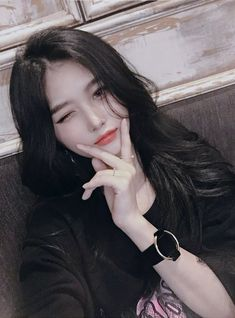 Korean Beauty Girls, Pretty Korean Girls, Cute Korean Girl, Cute Asian Girls, Beautiful Asian Girls, Asian Beauty, Cute Girls, Ulzzang Girl Fashion, Ulzzang Korean Girl