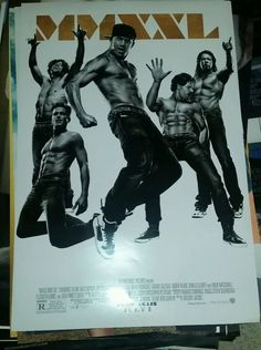 Magic Mike XXL DS Promo Movie Theater Poster   27 x 40 inches P19