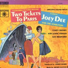 Vinyl Album - Joey Dee And The Starlighters - Two Tickets To Paris (Original Soundtrack) - Roulette - USA